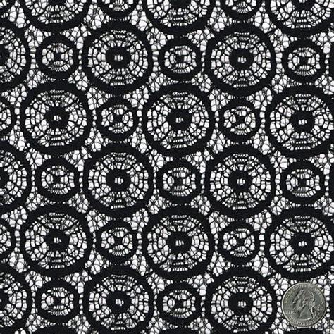 geometric pattern lace black lace fabric infinity pattern lace geometrical circle