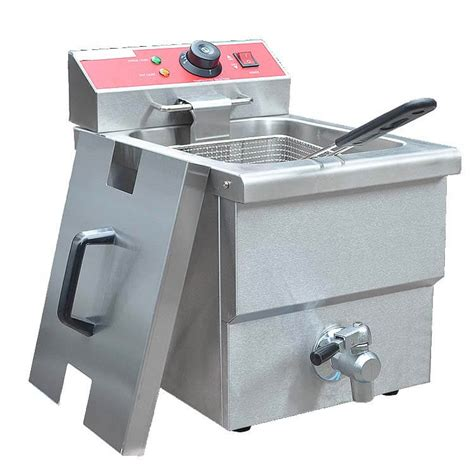 Table Top Fryer by Commercial Fryers With Filter Easy To Clean