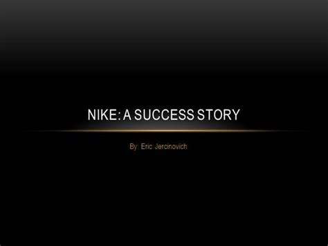 Nike Powerpoint Authorstream Nike Powerpoint Template
