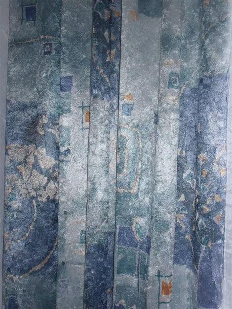 blaue gardinen schals gardine schal blau gemustert crinkle in erlenbach