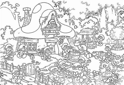 coloring pages christmas village village coloring page vitlt com