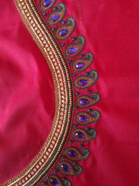 embroidery design in blouse 748 best images about aari embroidery on pinterest