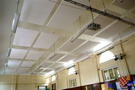 Suspended Acoustic Ceiling Panels Acoustic Conditions In Schools Reverberation Times