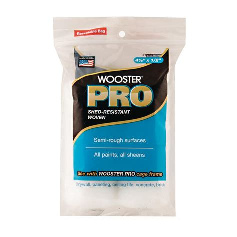 home depot pro x paint wooster pro 4 1 2 in x 1 2 in high density woven cage