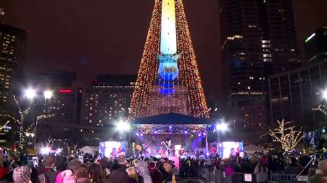 christmas tree lighting indianapolis circle of lights tree lights up friday cbs 4 indianapolis news weather traffic and