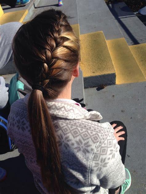 20 best braid for hair school hairstyles ponytail