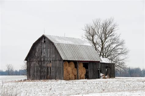 Hay Barn Hay Barn By David Arment