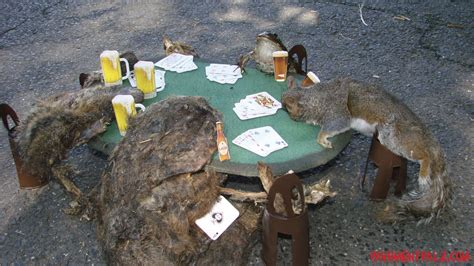 3d roadkill dog roadkill playing poker picture ebaum s world