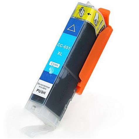 Canon Cyan Ink Cartridge Cli821c canon cli 651xl cyan compatible ink cartridge ink hub