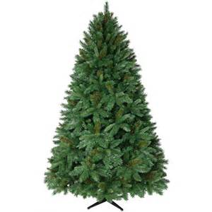 donner fir artificial christmas tree unlit walmart com