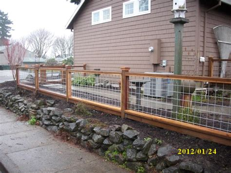 wood wire fence on wire fence fence and fencing wood and wire fence panels