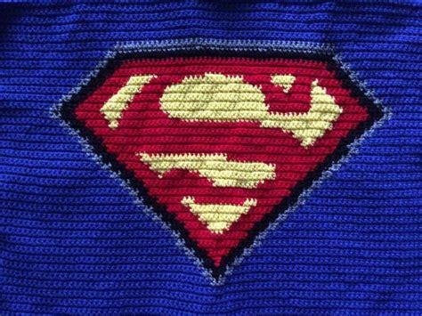 superman logo crochet pattern crochet superman logo