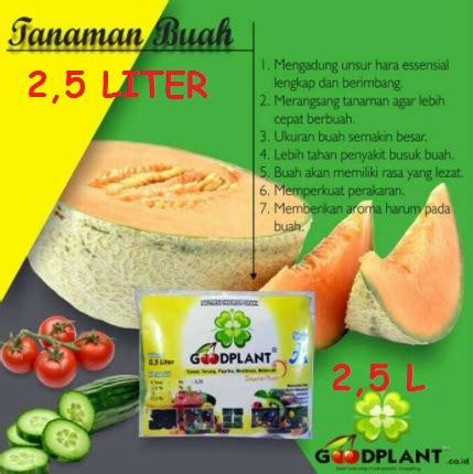 Nutrisi Hidroponik Ab Mix Buah goodplant nutrisi ab mix buah 2 5 liter bibitbunga