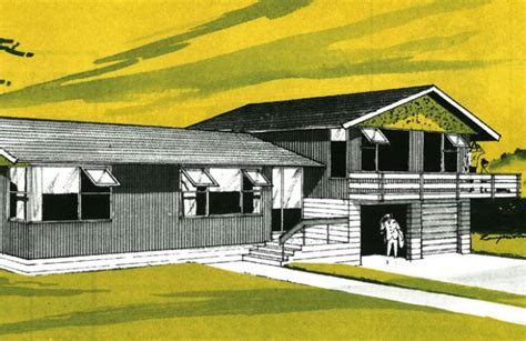split level house plans 1960s 1940 60s architect designed homes layout and form branz renovate