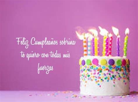 imagenes y frases de cumpleaños sobrina las 25 mejores ideas sobre tarjetas de cumplea 241 os sobrina