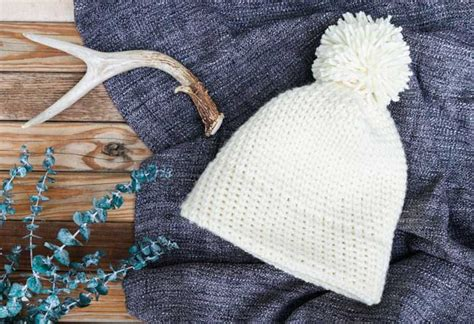 easy knit hat pattern for beginners free modern crochet hat pattern for beginners s