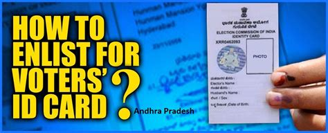 Search Address By Voter Id Card Number How To Apply For New Voter Id Card In Andhra Offline Topinfowala In