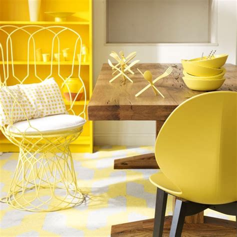 warm yellow dining room housetohome co uk
