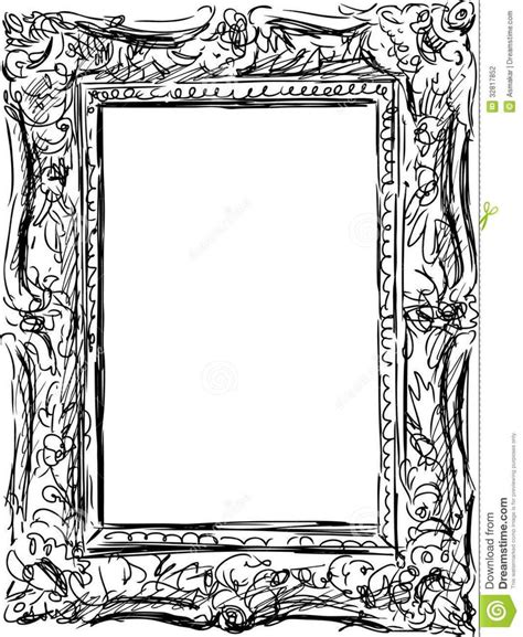 how to draw doodle frames frame drawing keres 233 s tanfolyam