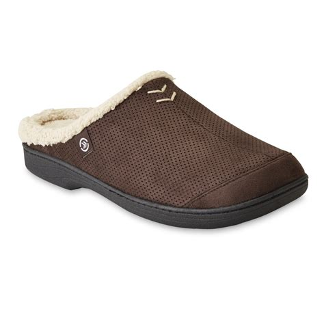 isotoner clog slippers isotoner s brown clog slipper shoes s shoes