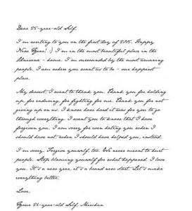 New Year Business Letter Template Forgive A Happy New Year Letter To My 25 Year Self Open Letters