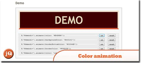 jquery animate color 20 jquery plugins to create animating image effects