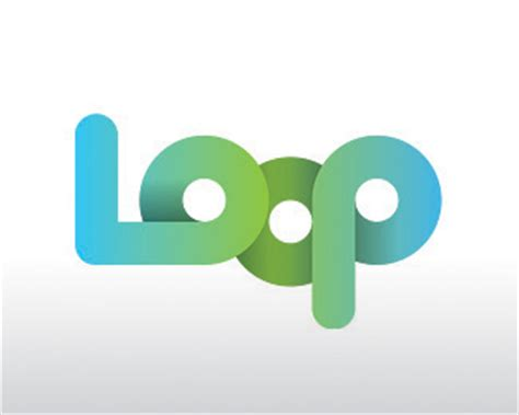 typography loop logopond logo brand identity inspiration loop