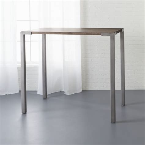 cb2 kitchen island stilt 42 quot high dining table cb2
