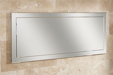 Large Bathroom Mirrors Uk Hib Landscape Mirror On Mirror With Bevelled Edges 1200x500 77295000