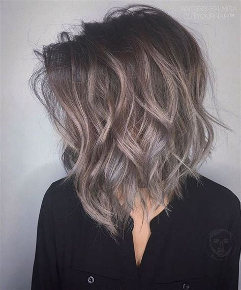 hairstyles with grey ombre 50 short black and grey ombre hairstyles 51 nona gaya