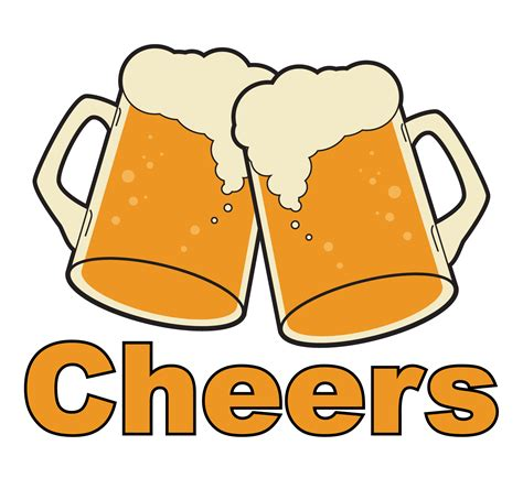 Cheers Clipart ludlum design cheers