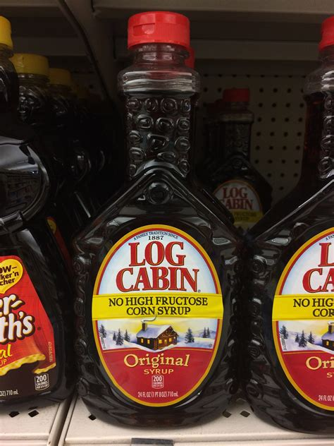 log cabin syrup truth  advertising