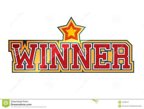 winner stock vector image 41665217