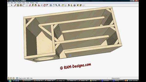 ram design ram designs t line box design for true bass 8 quot subwoofer