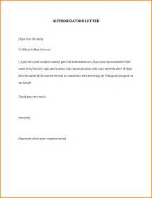 Authorization Letter Sample Format Sample Authorization Letter 43590719 Png Letter Template