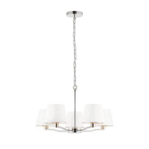 5 Light Ceiling Fitting by Endon Lighting Harvey 5 Light Ceiling Fitting In Polished