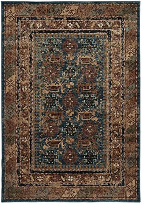 rugs for rustic decor southwestern lodge bellevue 7 10 quot x10 10 quot rectangle blue area rug rustic area rugs by rugpal