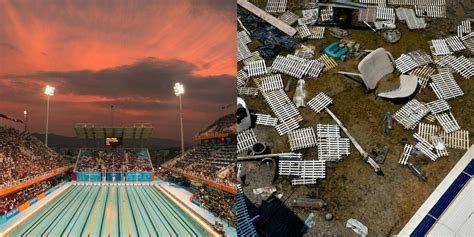 olympic venues what old olympics venues look like today abandoned