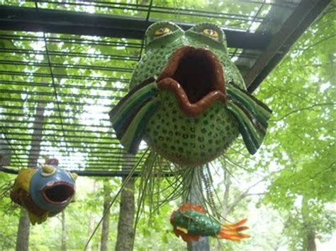 Fish Bird Feeder Fish Bird Feeders Clay And Ceramics Ideas