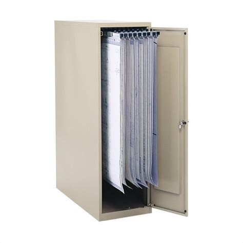 File Hangers For Filing Cabinet Vertical 1 Drawer Metal File Cabinet For 18 24 30 36 Quot Hanging Cls In Tropic Sand 5041