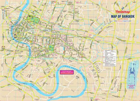 bangkok map maps update 21051488 bangkok tourist map pdf bangkok map with tourist spots pdf 75 more