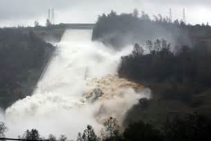 Used California Oroville Dam S Emergency Spillway May Be Used To Handle