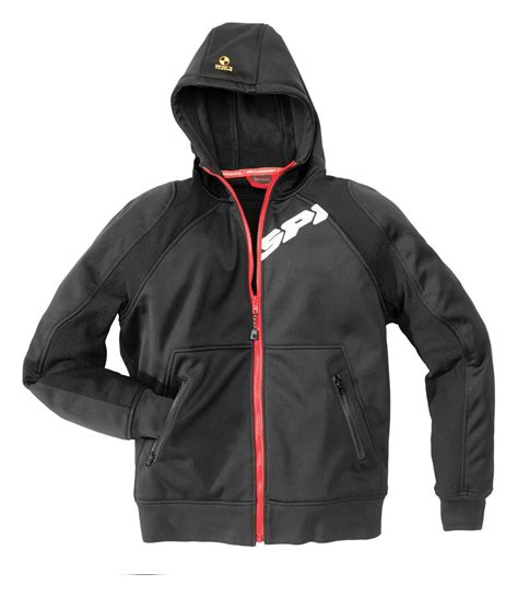 Spidi Hoodie Armor Jacket   RevZilla