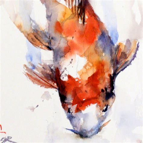 koi fish watercolor paintings ask com e colour in water pinterest koi