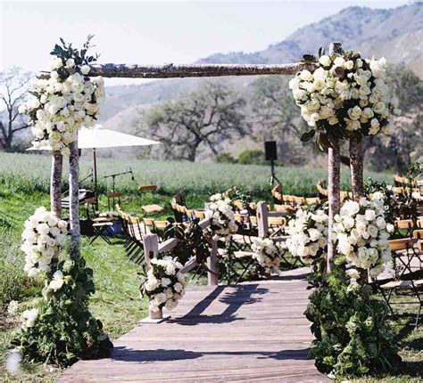 rustic outdoor wedding ideas wedding and bridal inspiration