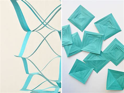 How To Make A Paper Garland - springy paper garland diy oh happy day bloglovin