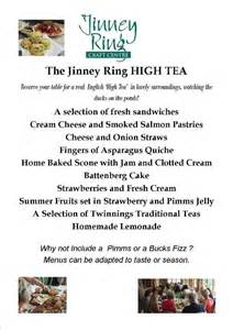 Dessert and afternoon tea menu png dessert and afternoon tea menu