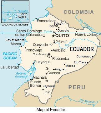 san jose de minas ecuador map salinas ecuador map