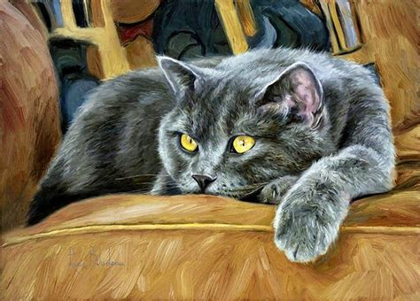 Cat Acrylic Amsterdam 17 best images about painting on i