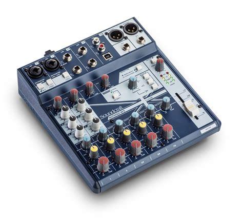 Mixer Audio Soundcraft Efx84usb soundcraft mixer notepad 5 e notepad 8fx ziomusic it